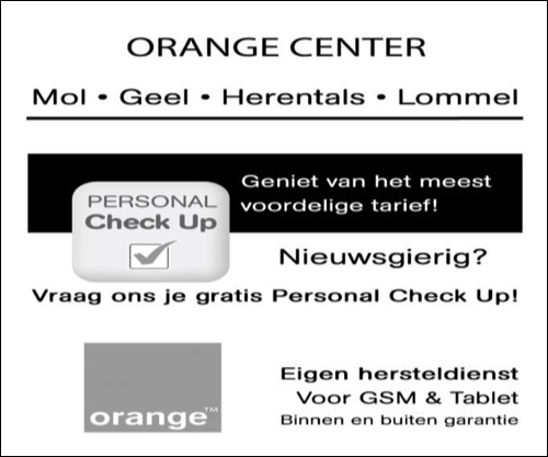 Orange Center Mol