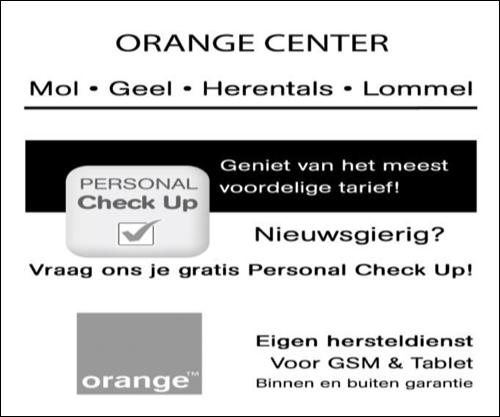 Orange Center Mol