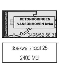Betonboringen Vansonhoven